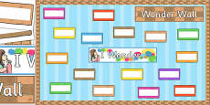 Wonder Wall Display Pack