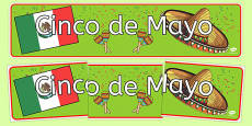 Cinco de Mayo Display Banner