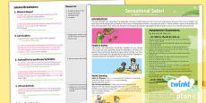 PlanIt - Geography Year 2 - Sensational Safari Planning Overview
