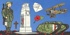 Remembrance Day Cut Outs (Australia)