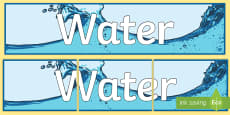 Water Display Banner
