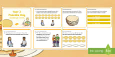 * NEW * Year 2 Pancake Day Maths Challenge Cards