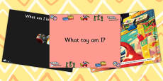 What Toy Am I PowerPoint
