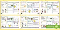 Year 2 Summer Term 1 SPaG Activity Mats