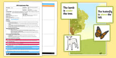 Easter Preposition Game EYFS Adult Input Plan and Resource Pack