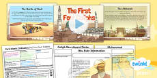 PlanIt - History UKS2 - Early Islamic Civilisation Lesson 4: The First Four Caliphs Lesson Pack