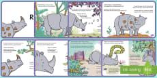 Ronald the Rhino Story