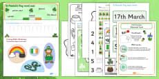 St Patricks Day EYFS Resource Pack