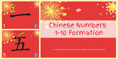 Australia  Chinese New Year PowerPoint Number Formation