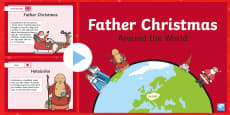 Father Christmas Around the World PowerPoint