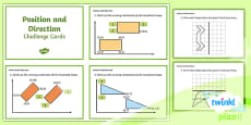 PlanIt Y5 Position and Direction Challenge Cards