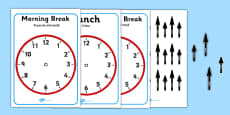 Split Pin Display Clocks Romanian Translation