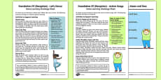 Dance Till You Drop Home Learning Challenge Sheets Pack