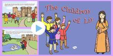 The Children Of Lir PowerPoint Story