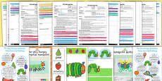 EYFS Adult Input Planning and Resource Pack to Support Teaching on The Very Hungry Caterpillar
