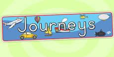 Australia - Journeys Display Banner