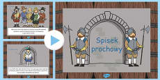 The Gunpowder Plot Information PowerPoint KS1 Polish