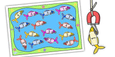 Editable Fishing Activity Cut-Outs