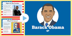 Barack Obama An Informative PowerPoint