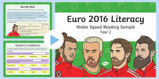 Wales Squad Reading Comprehension Year 2 PowerPoint