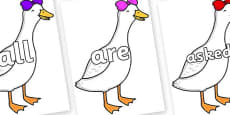 Tricky Words on Ducky Lucky