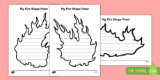 Fire Shape Poetry