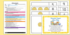 Pancake Count EYFS Busy Bag Plan And Resource Pack