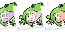 Phoneme Set on Green Tree Frog