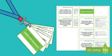 Lanyard Sized Year Two Number Addition and Subtraction Objectives Cards