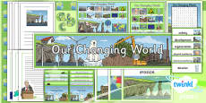 PlanIt - Geography Year 6 - Our Changing World Unit Additional Resources