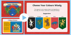 * NEW * KS2 Tudor Shields Information PowerPoint