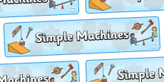 Simple Machines Display Banner