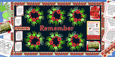 Ready Made Remembrance Day Display Pack