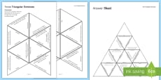 Forces Triangular Dominoes