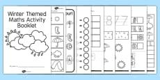 Australia - Winter Themed Maths Activity Booklet