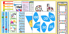 KS2 Top 10 Teaching Assistant Classroom Set Up Resource Pack