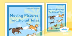 PlanIt - D&T KS1 - Moving Pictures: Traditional Tales Unit Book Cover
