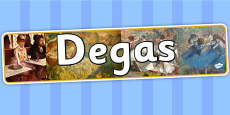 Degas Display Banner