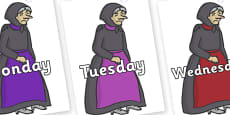 Days of the Week on Witches