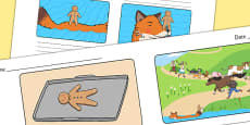 The Gingerbread Man Storyboard Template