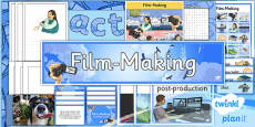 PlanIt - Computing Year 6 - Film-Making Unit Additional Resources