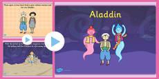 Aladdin Story PowerPoint