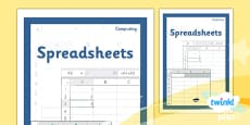PlanIt - Computing Year 6 - Spreadsheets Unit Book Cover