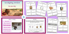 Investigating Artefacts Indus Valley Lesson Teaching Pack