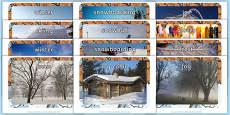 Winter Display Photographs