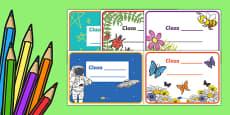Clasa noastră, Etichete editabile
