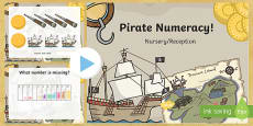 Pirate Numeracy Starter PowerPoint