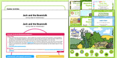 Childminder EYFS Jack and the Beanstalk Activity Web and Resource Pack