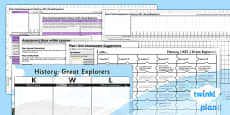 PlanIt - History KS1 - Great Explorers Unit Assessment Pack