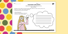 Sophie's Dilemma Activity Sheet to Support Teaching on The BFG